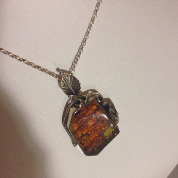 Stunning Baltic Amber Pendant